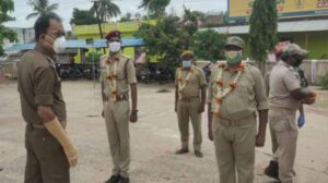 Odisha Police Resumed duty after recovery