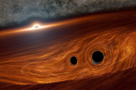 Scientists discovered the oldest black hole