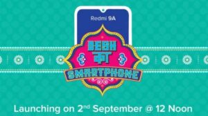 Redmi 9A to launch in India today